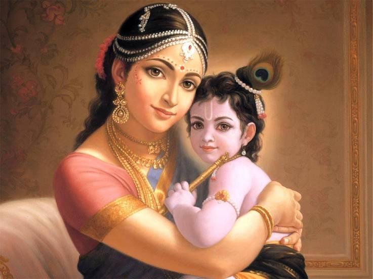 Yashoda & Krishna